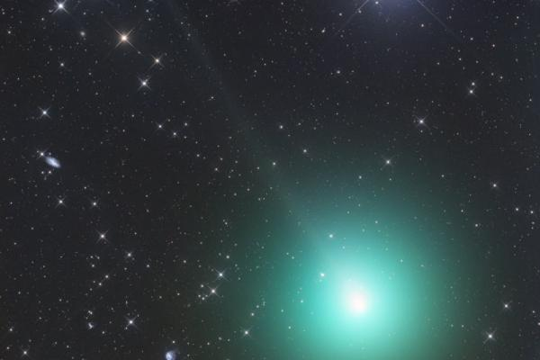 Comet 46P's coma extends more than 45 arcminutes in this picture taken on November 26, 2018. Gerald Rhemann (Namibia)